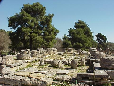 The Great Temple of Zeus at Olympia Ancient Places and/or Civilizations Archeological Wonders Philosophy