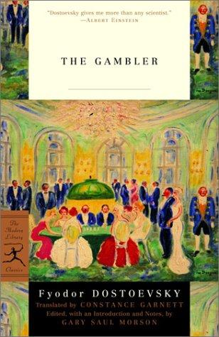 The Gambler - by Fyodor Dostoevsky Famous People Philosophy Tragedies and Triumphs Social Studies