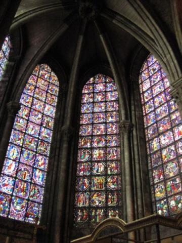 Chartres Cathedral - 13th Century Windows Geography Medieval Times Philosophy Visual Arts