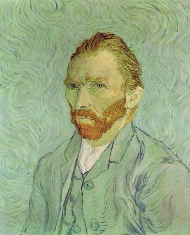 Self-Portrait of van Gogh Social Studies Visual Arts Biographies Famous People