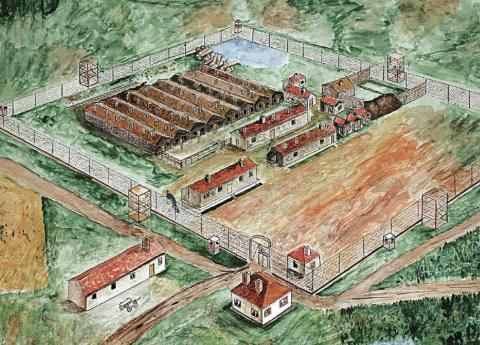BULGARIAN LABOR CAMPS (Illustration) Censorship Civil Rights Cold War Famous Historical Events Geography Social Studies Ethics Russian Studies Tragedies and Triumphs