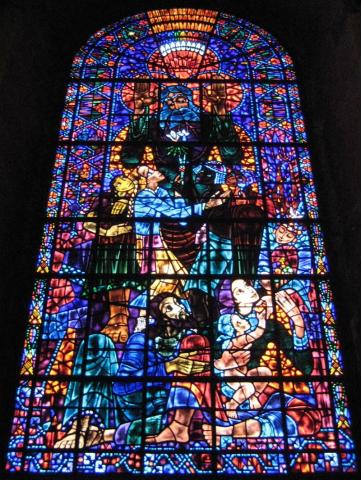 Canterbury Cathedral - Peace Window Medieval Times Philosophy Visual Arts