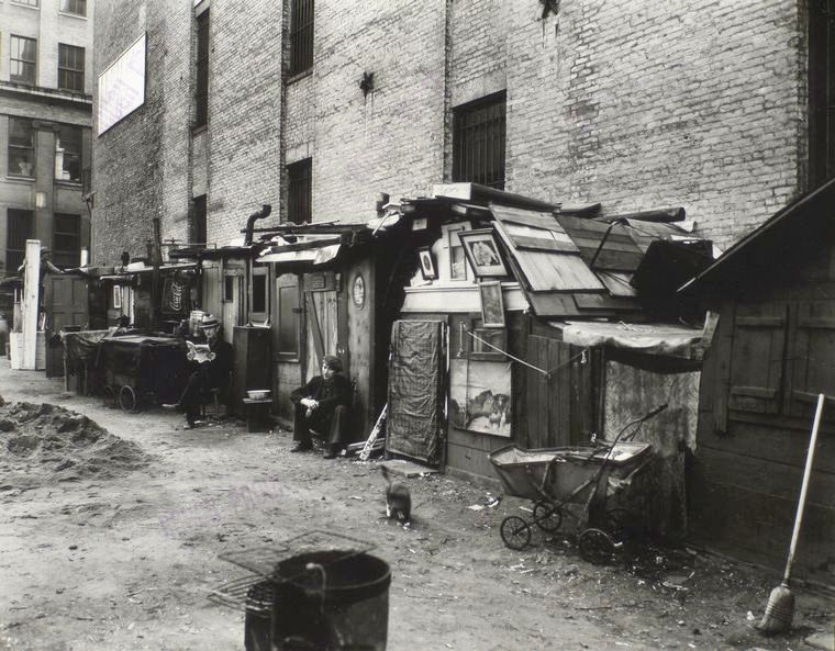 1 2 7 3 Down The Rockefeller Street: Hooverville In New York City