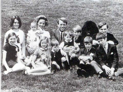 Bobby Kennedy and Family The Kennedys American History Biographies Famous People Social Studies