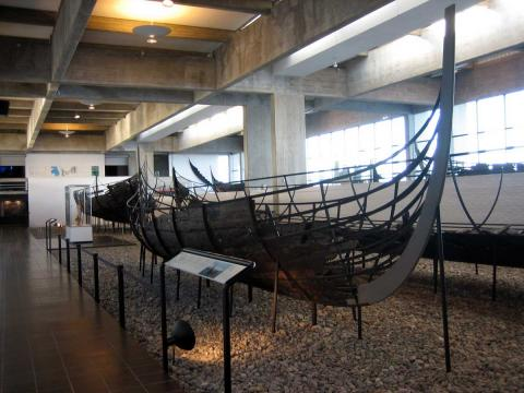 Viking Ships - Remains Ancient Places and/or Civilizations Archeological Wonders Film Geography Legends and Legendary People World History