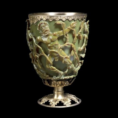 Ancient Dichroic Glass - Lycurgus Cup Ancient Places and/or Civilizations Visual Arts