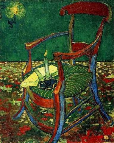 Gauguin's Chair, 1888 Visual Arts Nineteenth Century Life Tragedies and Triumphs Famous People