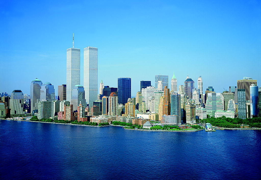 The World Trade Center's twin towers were skyline-defining in New York City