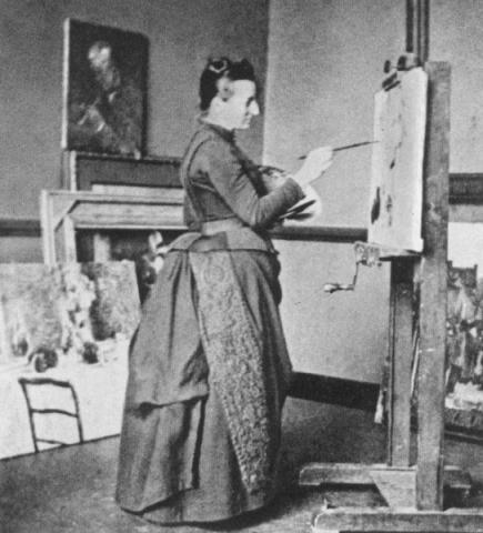 Anna Boch at Work Biographies Social Studies Tragedies and Triumphs Nineteenth Century Life Visual Arts