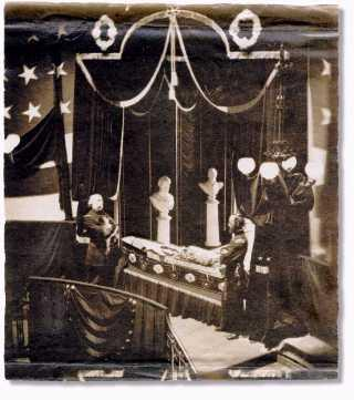Lincoln's Open Coffin in New York Disasters American History Famous Historical Events Famous People Government Nineteenth Century Life Social Studies