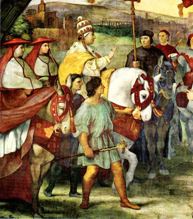 Attila the Hun - ATTILA MEETS THE POPE