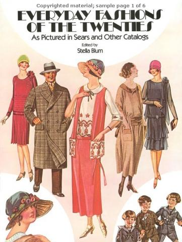Everyday Fashion of the Twenties - by Stella Blum Social Studies American History