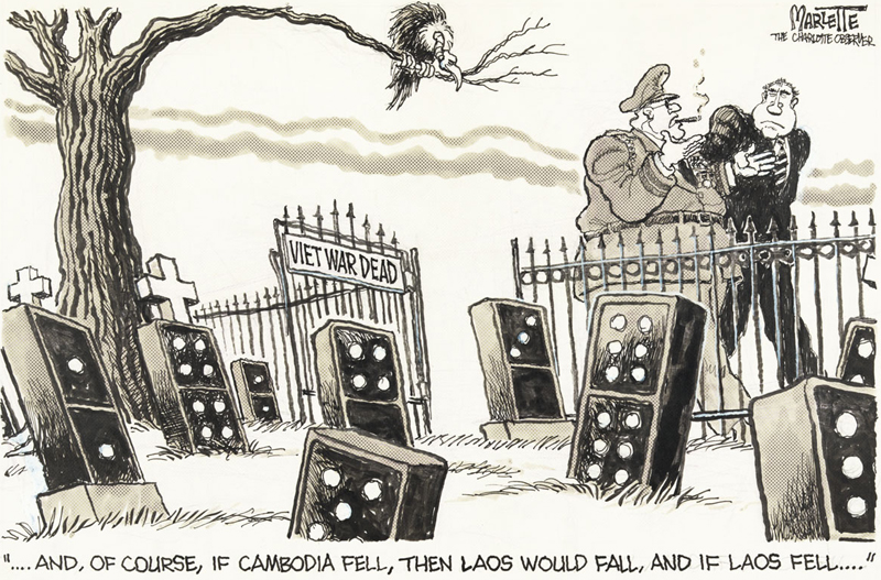 Domino Effect If Cambodia Fell Then Laos