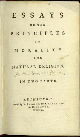 essays on religion and morality
