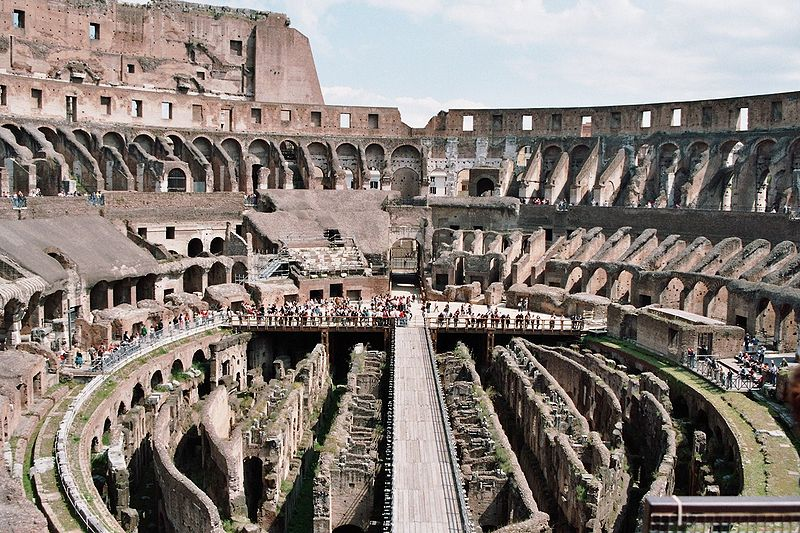 a research of the roman coliseum Discover ten fascinating facts about the colosseum of ancient rome here at ng  kids - when it was built, the events held there, how big it was and more.
