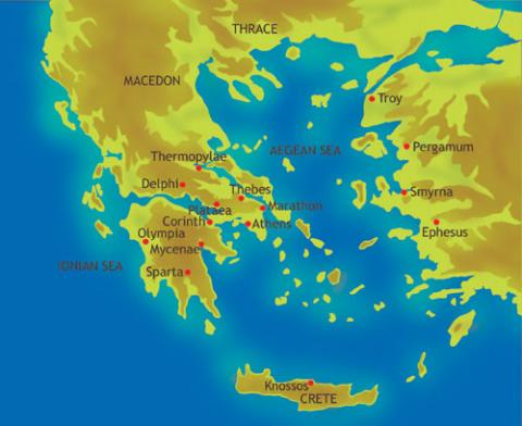 Thermopylae Geography Ancient Places and/or Civilizations History Social Studies World History
