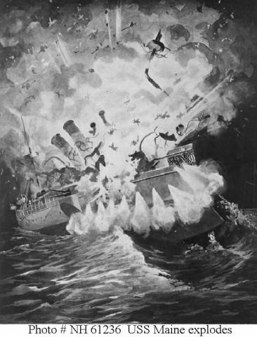 USS Maine Explodes in Havana American History Awesome Radio - Narrated Stories History Social Studies Sports Tragedies and Triumphs