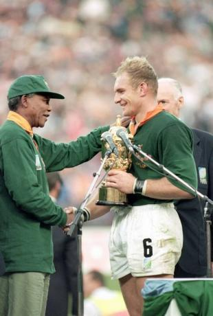 Mandela and Pienaar Visual Arts Biographies Famous Historical Events Social Studies Sports Tragedies and Triumphs
