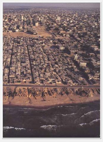 Gaza - Aerial View Ancient Places and/or Civilizations History Social Studies World History Geography