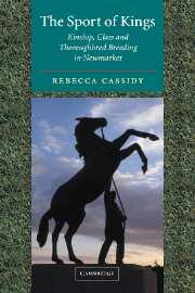 The Sport of Kings written by Rebecca Cassidy
