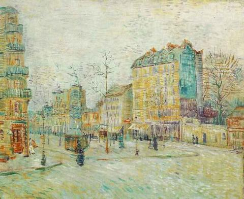 Boulevard de Clichy - 1887 Biographies Tragedies and Triumphs Visual Arts Nineteenth Century Life