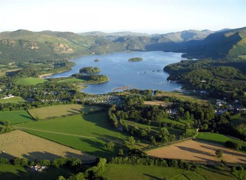 Northwest Side of Lake Derwentwater Disasters Geography Visual Arts