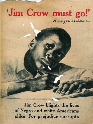 Jim Crow Laws poster