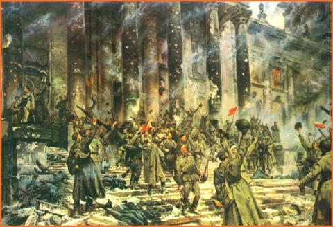BERLIN FALLS (Illustration) Russian Studies Awesome Radio - Narrated Stories Famous Historical Events Famous People Geography Social Studies Tragedies and Triumphs World History World War II
