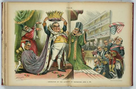 President McKinley - Assassination (Illustration) Famous Historical Events American Presidents Crimes and Criminals American History Biographies Famous People Social Studies Disasters Assassinations