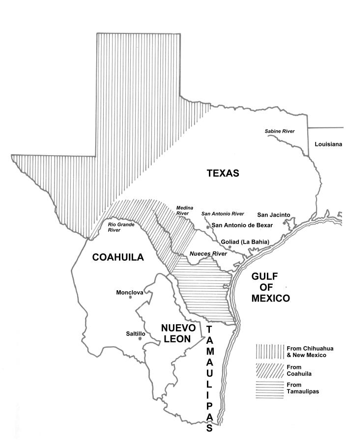 Historical Map Of Texas Annexation To The US - Us map texas