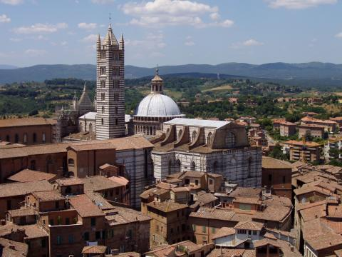 Siena - Duomo di Siena, 13th Century Church  Geography Medieval Times Visual Arts Philosophy