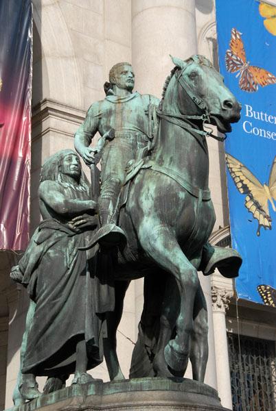 Origin Of Theodore Roosevelt Statue Natural History Museum