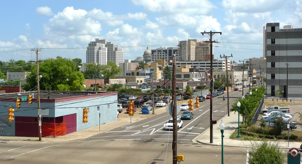 Jackson Mississippi Downtown Area