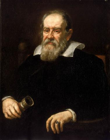 Galileo Portrait Famous People STEM Visual Arts