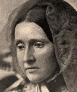 Julia Ward Howe-penned the words for the