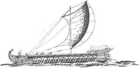 Athenian Triremes - Key to Persian Defeat Disasters Ancient Places and/or Civilizations Famous Historical Events Film World History
