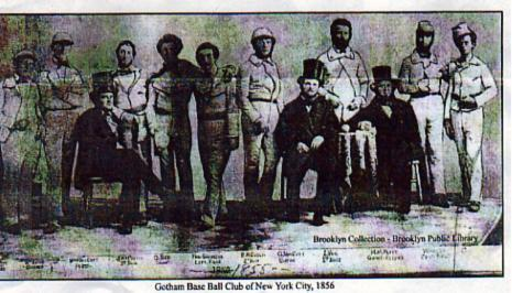 Gotham Baseball Club, 1864 American History Awesome Radio - Narrated Stories Sports Visual Arts Social Studies