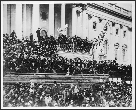 Abraham Lincoln - Delivering Second Inaugural American History American Presidents Famous Historical Events Famous People Social Studies Visual Arts
