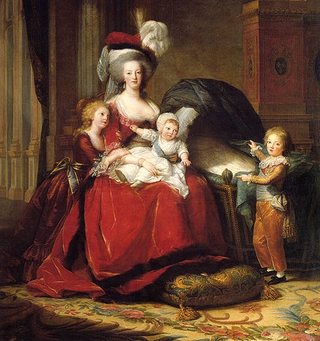 Paintings Of Marie Antoinette S Childhood