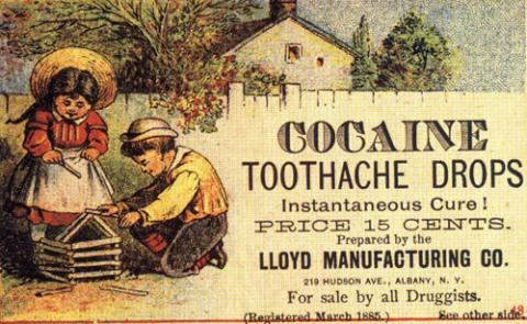 19th Century-Curing Tooth-Aches with Cocaine