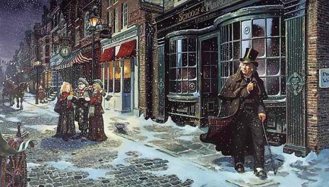 A Christmas Carol (Illustration) Ethics Famous People Nineteenth Century Life Social Studies Victorian Age Fiction Awesome Radio - Narrated Stories
