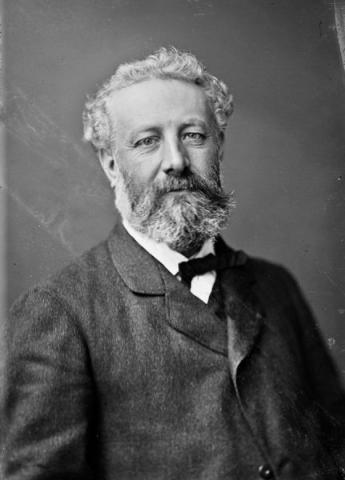 Jules Verne - Writer of Scientific Fiction (Illustration) Famous People Fiction Film Nineteenth Century Life Social Studies Biographies Dystopia or Science Fiction