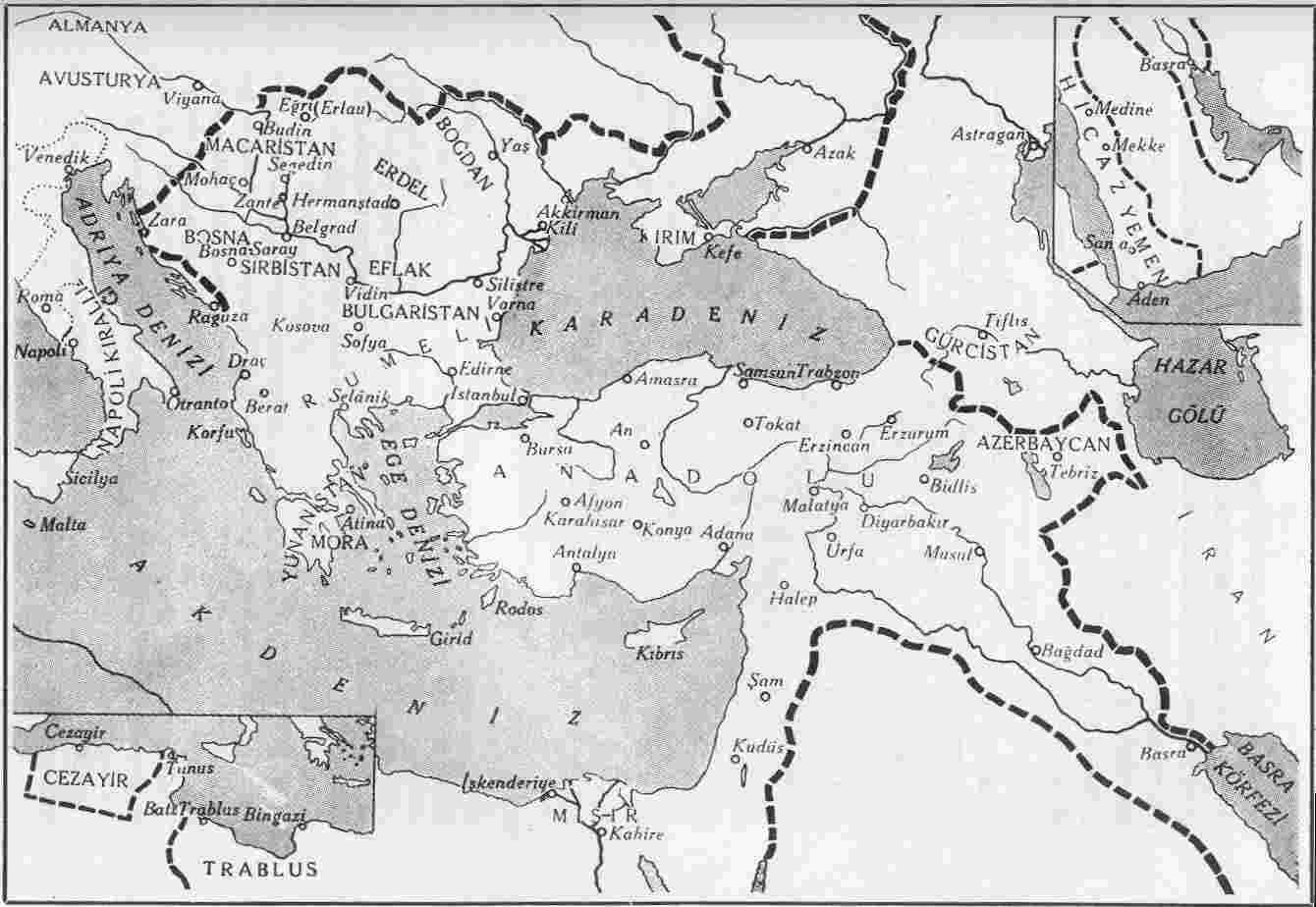 Asia Minor  Map