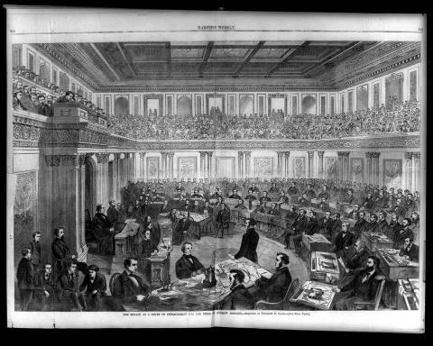Impeachment Trial of Andrew Johnson Tragedies and Triumphs American History Law and Politics