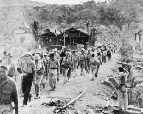 Prisoners of War on the Bataan Death March Civil Rights Famous Historical Events World War II