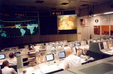 Apollo 13 - Gene Kranz at Mission Control American History Biographies Famous Historical Events Film Aviation & Space Exploration STEM Tragedies and Triumphs Legends and Legendary People