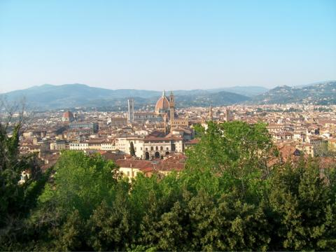 Florence - A Panoramic View of Firenze Geography Medieval Times Philosophy Visual Arts Disasters