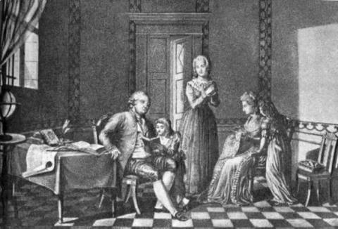 Louis XVI - Time with His Family before Execution Famous Historical Events Famous People Social Studies Trials World History Visual Arts