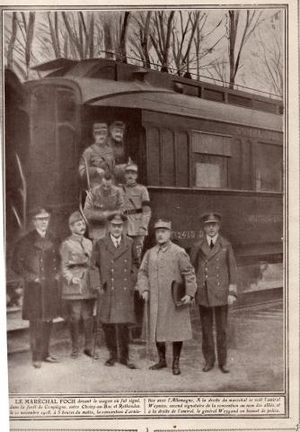 Armistice, 1918 - Both Sides at the Railway Carriage World War I Visual Arts Famous Historical Events Famous People Geography Social Studies