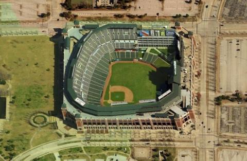 Stadium in Arlington, Texas American History Biographies Social Studies Sports Geography